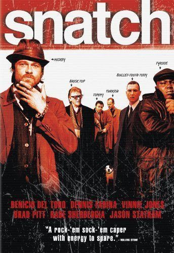 Poster Of English Movie Snatch (2000) Free Download Full New Hollywood Movie Watch Online At Alldownloads4u.Com
