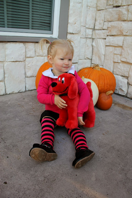 the only handmade part of this outfit is the dress i used the norah dress pattern by welcome to the mouse house again purchased in a pattern bundle - Clifford The Big Red Dog Halloween Costume