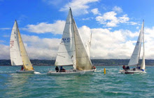 J/80 one-design sailboats- sailing France