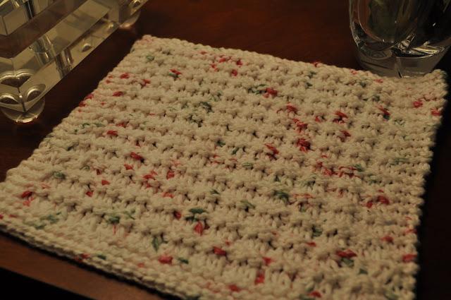 Waffle Knitting Pattern Dishcloth : Amanda + Don: Waffle Knit Dishcloth Pattern - LOVE!