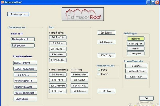 EstimatorRoof