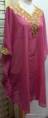 Kaftan Pendek Pink - Kebaya Modern | Kebaya Pengantin | Model Kebaya