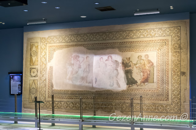 Dionysos'un düğünü mozaiği, Zeugma Müzesi Gaziantep
