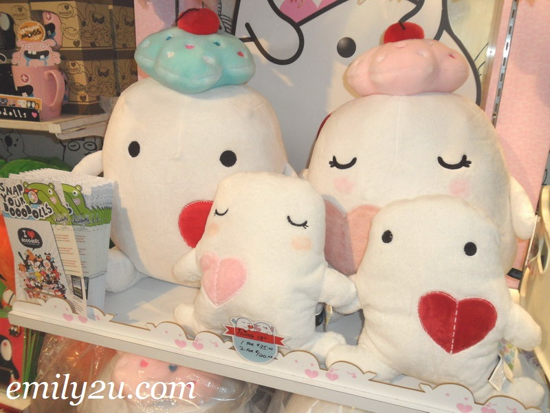 dooodolls soft toy promotion