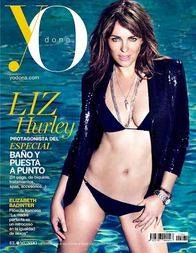 Elizabeth Hurley in YO Donna Magazine:celebrities,Best,milf,cleavage0