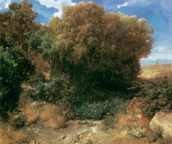Arnold Böcklin - Campagna Landscape