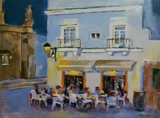 Pintura de Cristina López Ramírez en La Galería del Arte