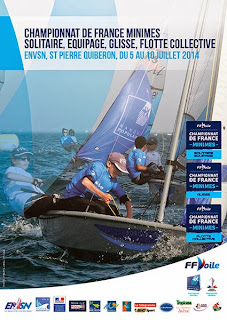 Voile championnat de France enfant Optimist