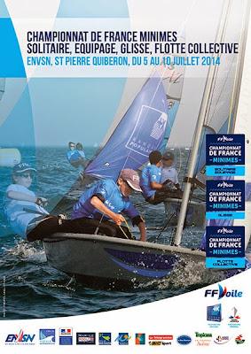 Championnat de France Voile Minimes Optimist 2014 Quiberon