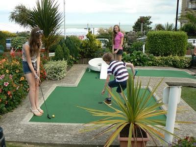 Broadstairs Kent mini golf