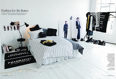h m fashion for your home. Black Bedroom Furniture Sets. Home Design Ideas
