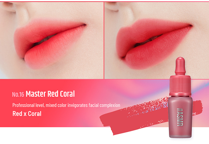 Son Peripera Ink Airy Velvet Master Red Coral