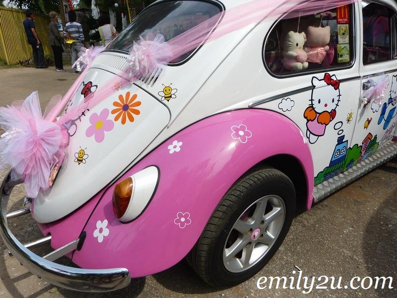 modified Volkswagen Beetle