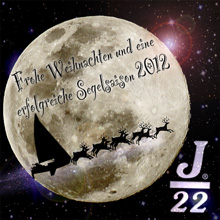 J/22 Happy Holidays from Germany J/22 Class!