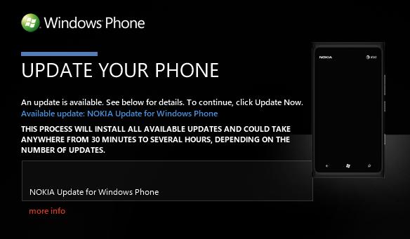 Nokia Lumia 900 Software Fixing