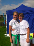 Race Organiser Jane Newman and Jane Spree from Force Cancer Charity