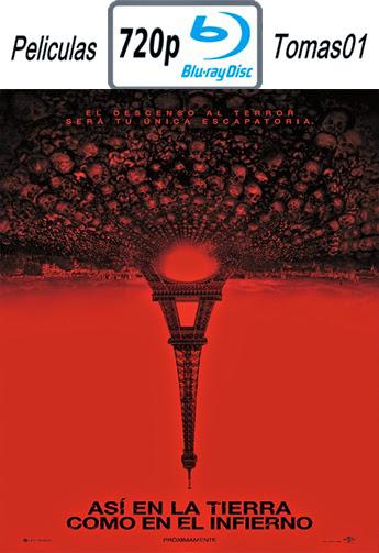 Así en la Tierra como en el Infierno (2014) BRRip 720p