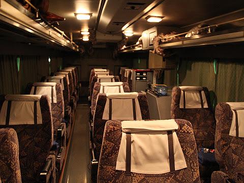 西鉄高速バス「さぬきエクスプレス福岡号」 3270 車内 その1