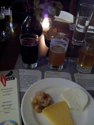 Raven and Rose: Beer with the Bird, Logsdon Farmhouse ales pairing
