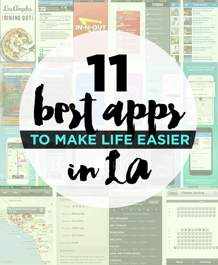 11 Best Apps for Living in LA.