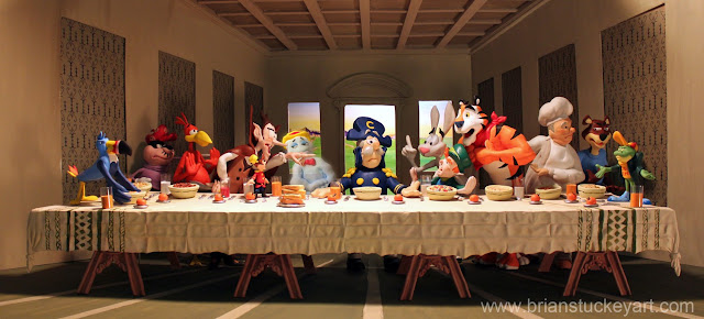 The Last Breakfast, cereal mascots