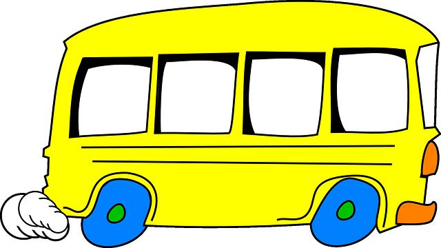 Schoolbus, Kuning, Penggerak