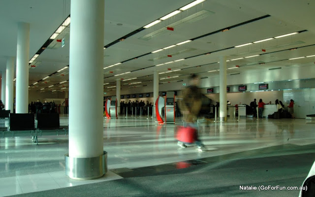 Canberra, the Very First Impression - Part 1 -  Surprise-Surprise! and Canberra Airport