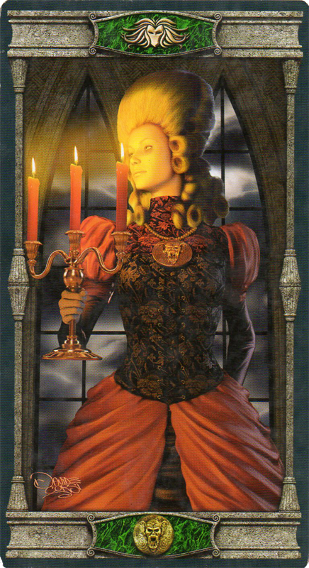 The Pentacles Suit Tarot Cards Meanings In Readings: Vampire Tarot Of The Eternal