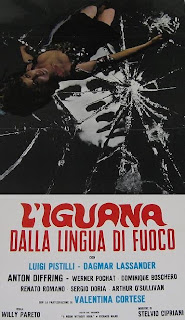 Riccardo Freda's The Iguana with the Tongue of Fire (1971) Cover