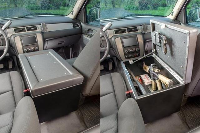 Mygundiary Com Gun Blog Gun Storage For A Truck