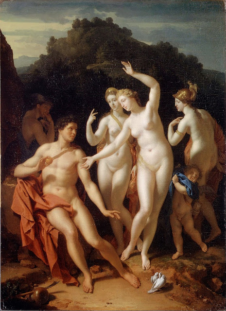 Adriaen van der Werff - The Judgement of Paris - Google Art Project