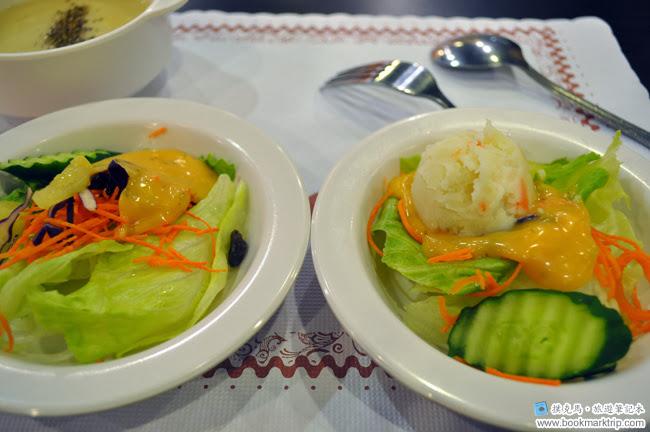 幸福牛排生菜沙拉