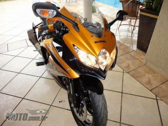 Me apresentando de moto nova. GSX-R 750 Rafael de Goiânia Srad