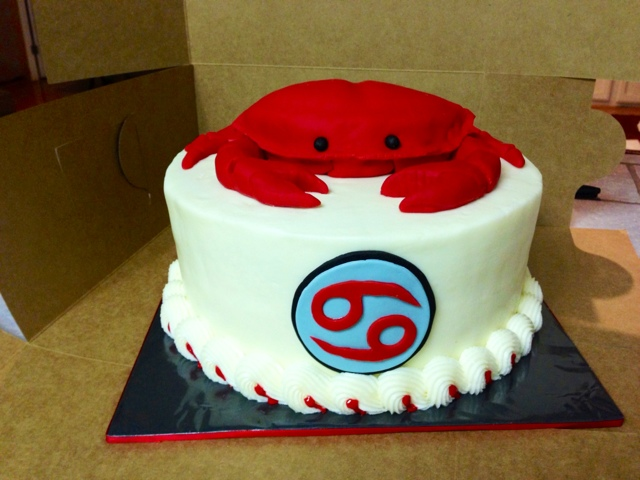 Cakes By Mindy Cancer Zodiac Crab Cake 8
