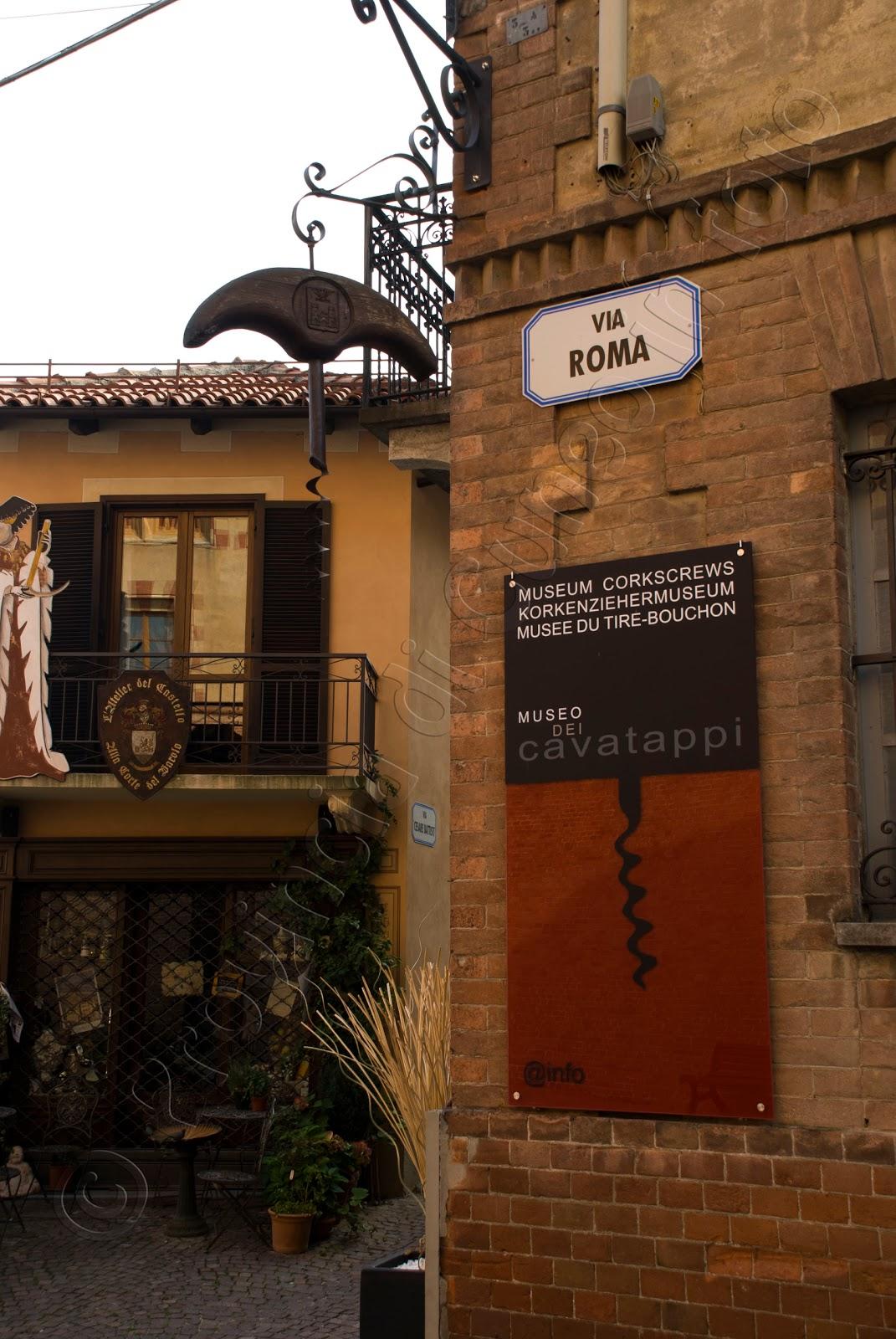 fotografia museo cavatappi barolo