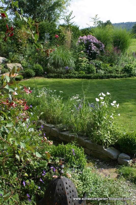 ein schweizer garten: vorher-nachher-bilder, Garten und Bauen