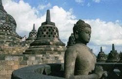 Đền Borobudur, Java, Indonesia