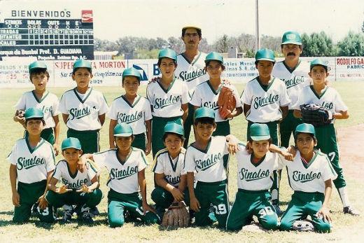 Representativo de Sinaloa en el campeonato nacional menor de 1986