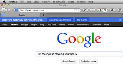 Chrome Commercial Startseite