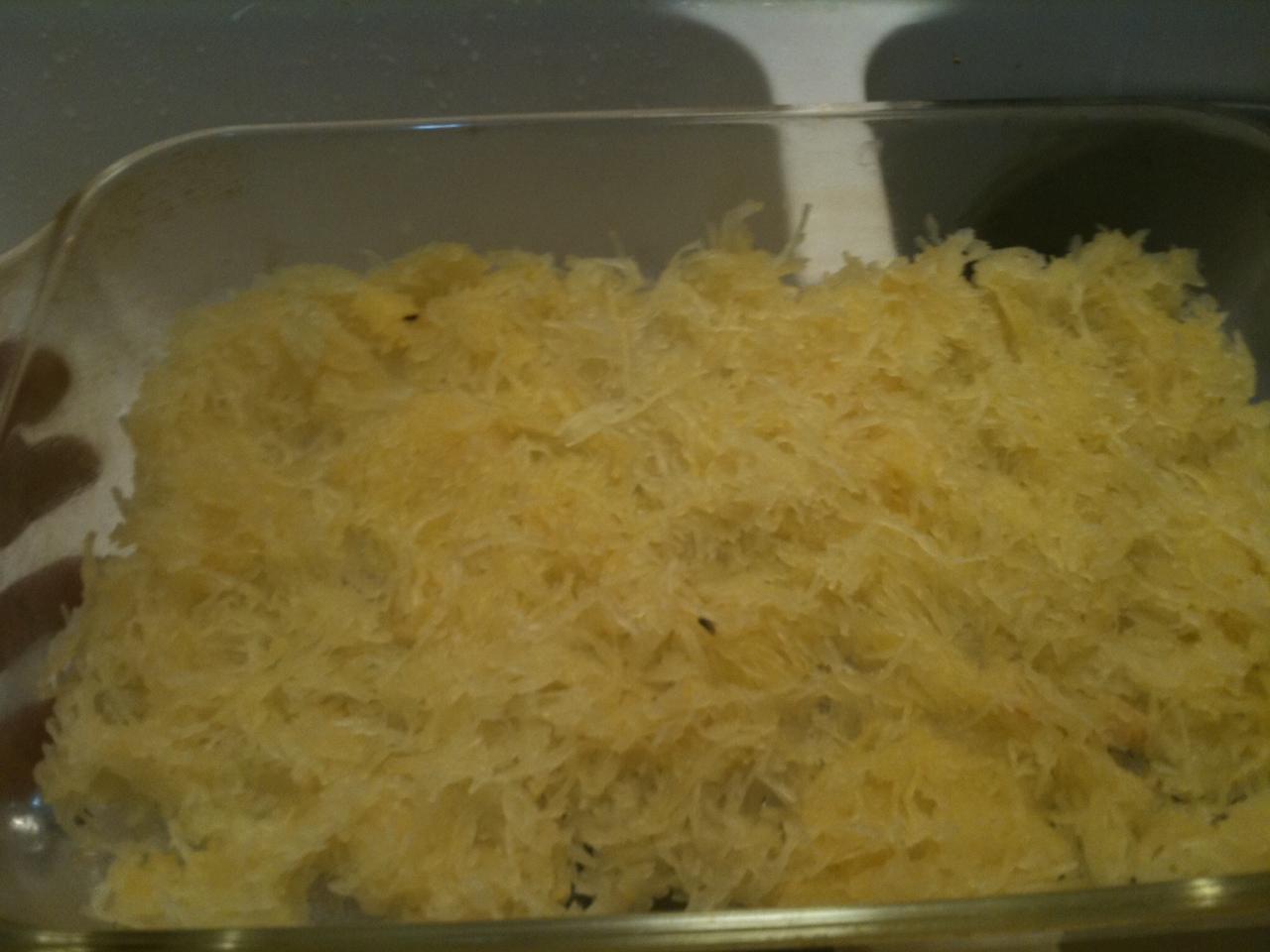 spaghetti squash and chard saute recipes dishmaps squash chard ...