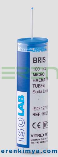 Mikro Hematokrit Tüpü Sodyum Heparinsiz