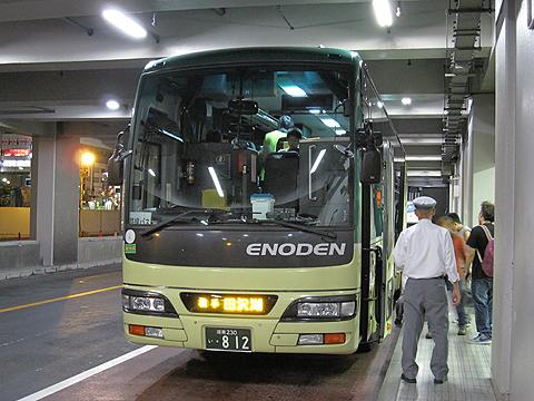江ノ電バス藤沢「レイク&ポート号」 812 浜松町BT改札中