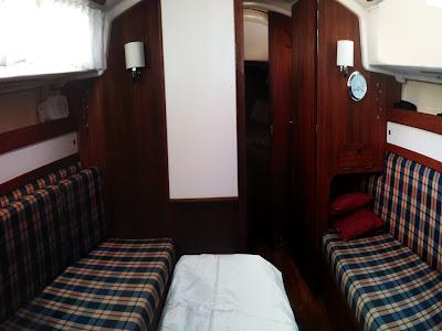 Sabre 28- Cabin Forward