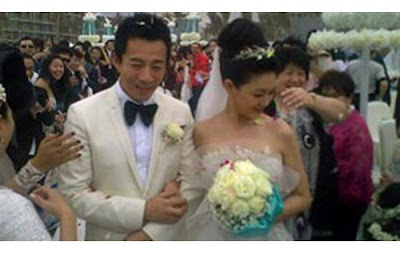 Barbie Hsu Wang Xiao Fei Wedding