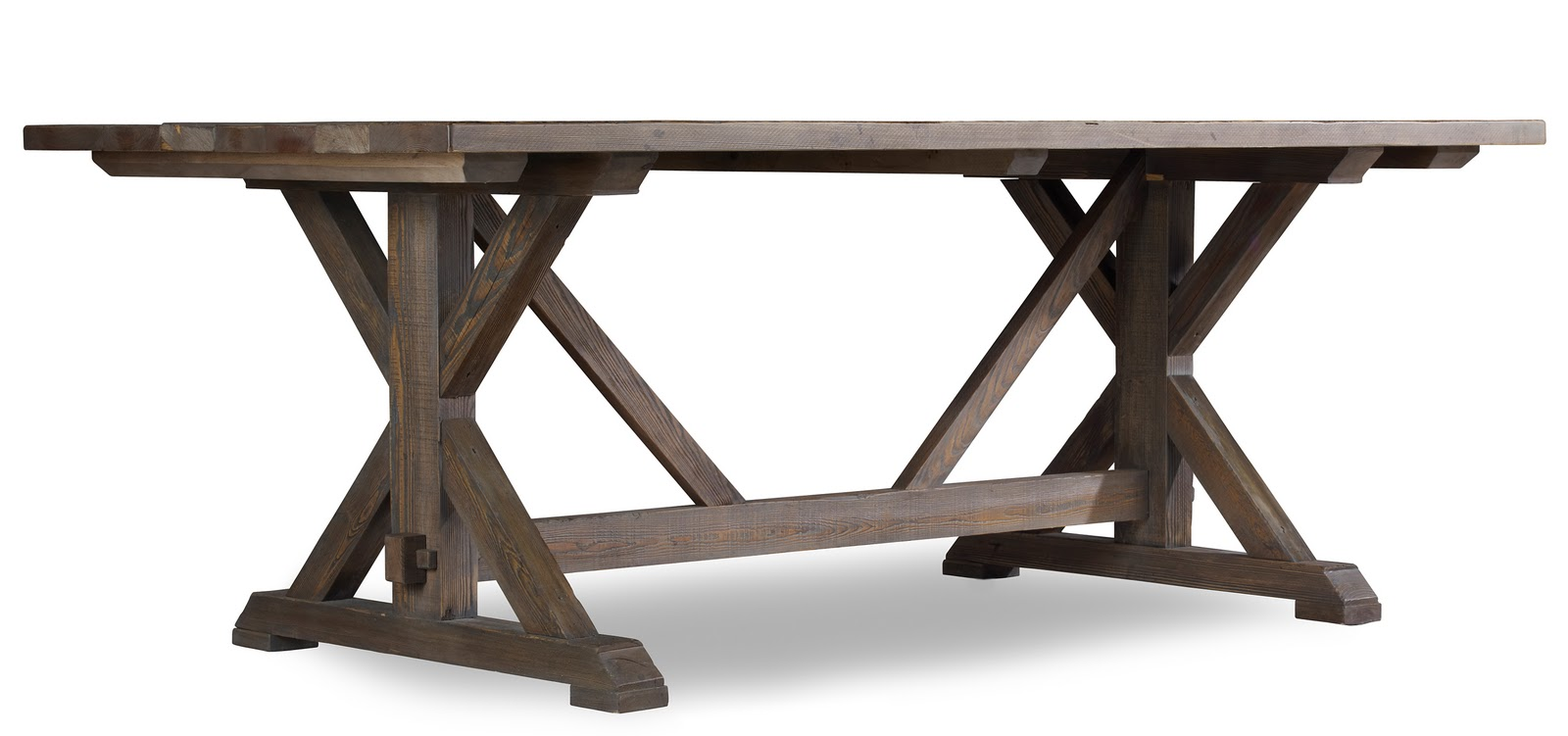 Found For Home :: Wooden Farmhouse Dining Table :: Hooker Furniture