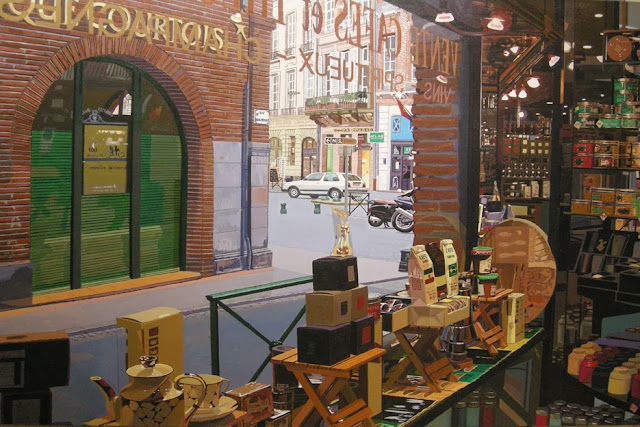 boutique de te,pintura en acrílico de Francisco Motto