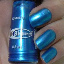 Esmalte metálico azul