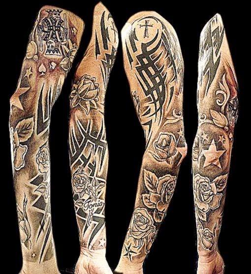 80 Awesome Examples of Full Sleeve Tattoo Ideas  Showcase of Art