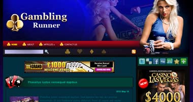 Casino Wordpress Theme - wpg135