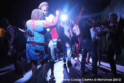 Benicassim,  19/08/2013 - Sunsplash 2013 - African Village / Discoteca al más puro estilo Africano - Photo by Carlo Crippa © Rototom 2013